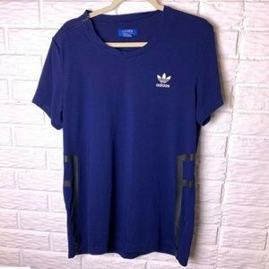 Adidas ZX T Shirt Size Large Short Sleeves Trefoil